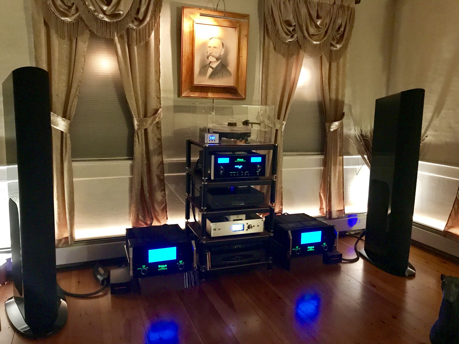 McIntosh and Goldenear Reference system